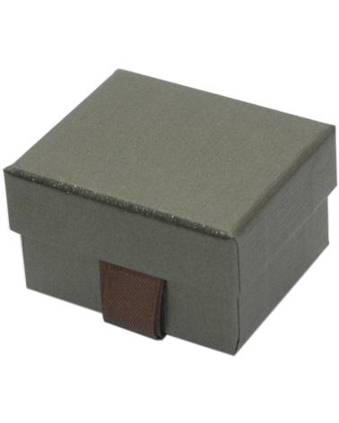 Caixa Linha Marron p/ Anel c/Fita - Castanho - 5.5x4.5x3.2cm - EO0615