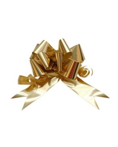 Laço de Puxar Metalizado Dourado - Dourado - 31mm - LÇ1144