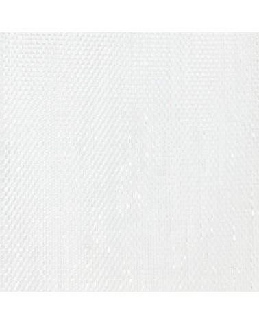 Rolo Fita Organza Prego Branco - Branco - 10mmx50mts - FT4478