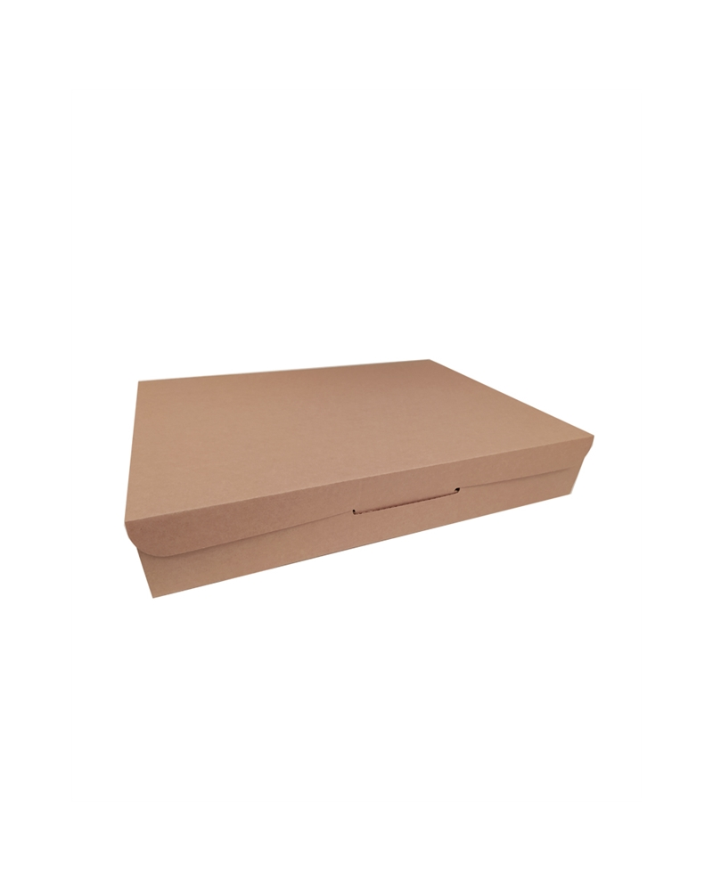 Caixa Envios Postal em Cartão Kraft Natural - Kraft - 435x320x80mm - CX4000