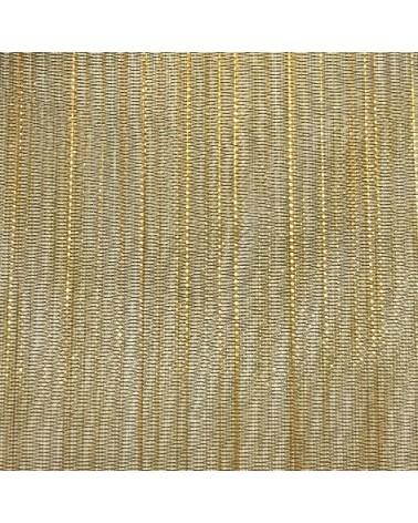 Fita Organza Tons Dourados 25mmx22y - Dourado - 25mmx20mts - FT4469