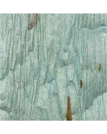 """Rolo Fita Artesenal Wrinkle Azul Claro 1""""x10mts - Azul - 23mmx10mts - FT4490"""