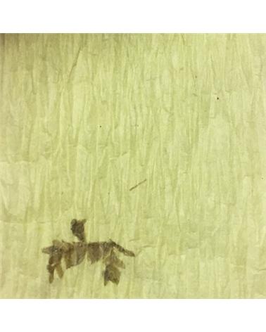 """Rolo Fita Artesenal Wrinkle Verde 1""""x10mts - Verde - 23mmx10mts - FT4494"""