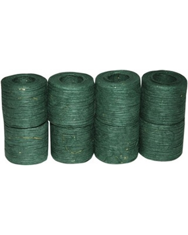 "Rolo Fita Artesenal Wrinkle Verde Escuro 2""x10mts - Verde - 45mmx10mts - FT4498"