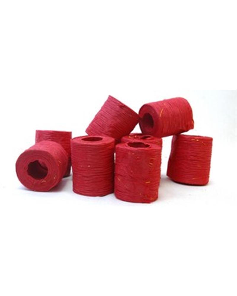 "Rolo Fita Artesenal Wrinkle Vermelho 3""x10mts - Vermelho - 50mmx10mts - FT4504"